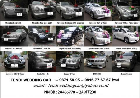 Sewa Mobil Pengantin Jakarta 700rb Murah Mercedes Jaguar Alphard